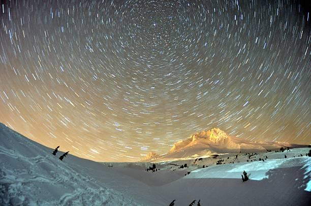 stellar view of Mount Hood