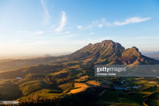 Stellenbosch, Simonberg mountains, Western Cape, South Africa, Africa