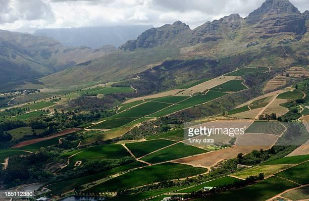 Stellenbosch UND WEINREGION – Luftaufnahme
