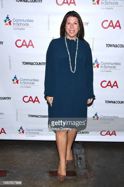 Stellene Volandes attends Communities In Schools LA 'Lunch With a Leader' on October 19 2018 in West Hollywood California