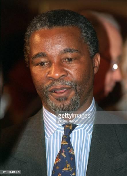 Stellvertretender Präsident der Republik Südafrika, aufgenommen am 10. Januar 1995 bei einem Besuch in Bonn.