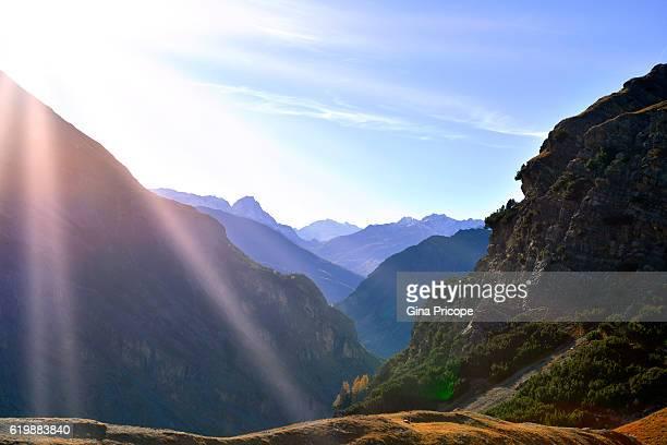 Stelvio mountain pass, Lombardy Italy.