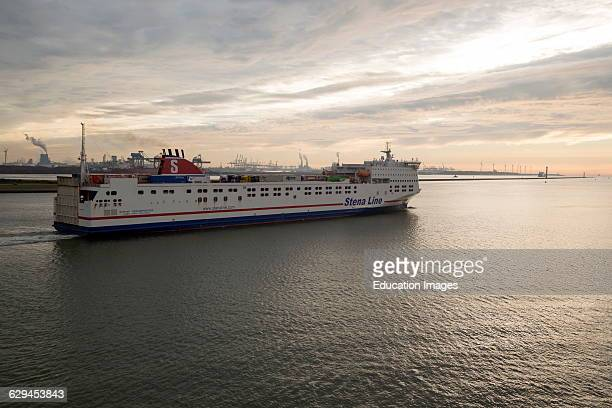 Stena Line freight ferry Port of Rotterdam Hook of Holland Netherlands