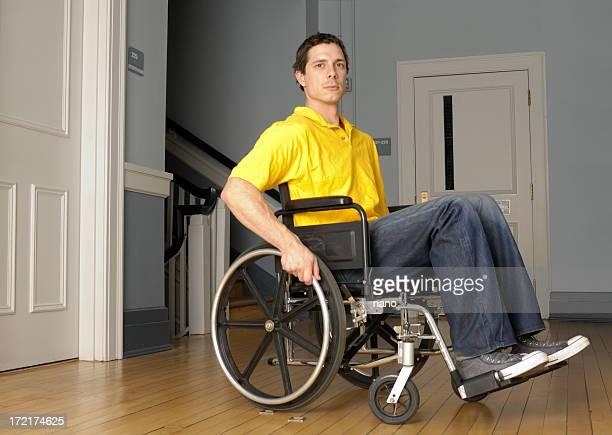 step bound on wheelchair