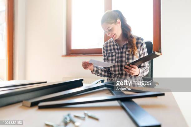 step by step guide - instruction manual stock photos and pictures