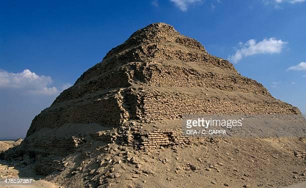 Step Pyramid of Djoser Saqqara Necropolis Memphis Egypt Egyptian civilisation Old Kingdom Dynasty III