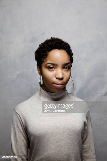 Step team member Talya Solomon from the documentary film 'STEP' is photographed at the 2017 Sundance Film Festival for Los Angeles Times on January...