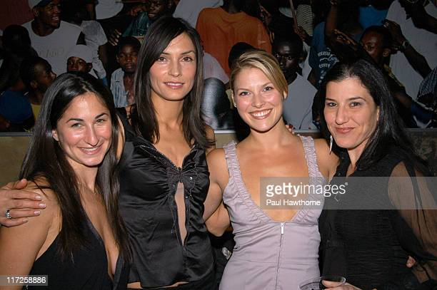 Step Up New York Board Member Deborah Marinoff Famke Janssen Ali Larter and President and Founder of Step Up Women's Newtwork Kaye Popofsky