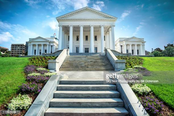 step up - virginia state capitol - richmond virginia stock pictures, royalty-free photos & images
