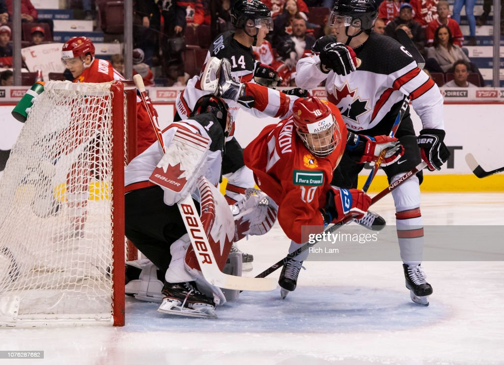 Russia v Canada - 2019 IIHF World Junior Championship : News Photo