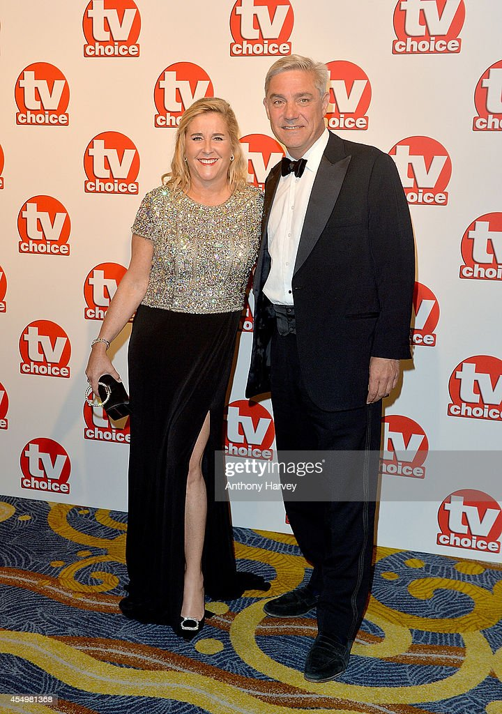 Steph and Dom Parker attend the TV Choice Awards 2014 at London Hilton on September 8, 2014 in London, England.