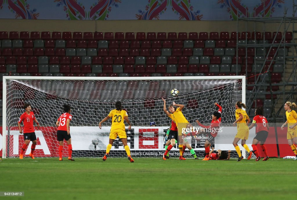 Australia v South Korea - AFC Women's Asian Cup Group B : News Photo