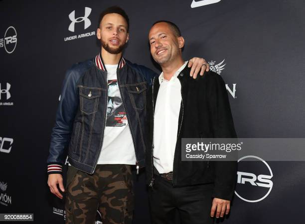 Steph Curry and David Spencer Attend Tequila Avion hosts NBA AllStar After Party presented by Talent Resources on February 17 2018 in Beverly Hills...