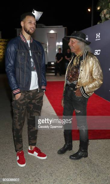 Steph Curry and James Goldstein Attend Tequila Avion hosts NBA AllStar After Party presented by Talent Resources on February 17 2018 in Beverly Hills...