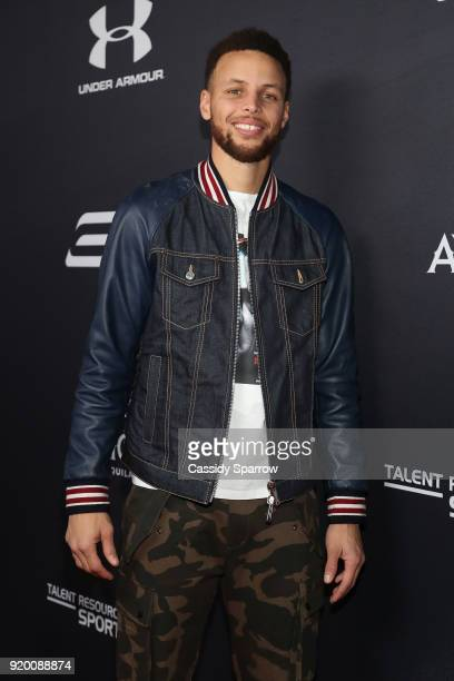 Steph Curry Attends Tequila Avion hosts NBA AllStar After Party presented by Talent Resources on February 17 2018 in Beverly Hills California