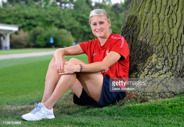 Steph Houghton Arsenal Ladies player and potential GB player at the Olympics. 19/5/2011.