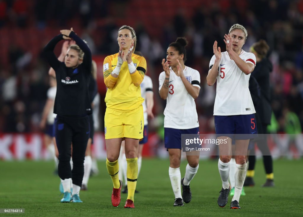 England v Wales - Women's World Cup Qualifier : News Photo