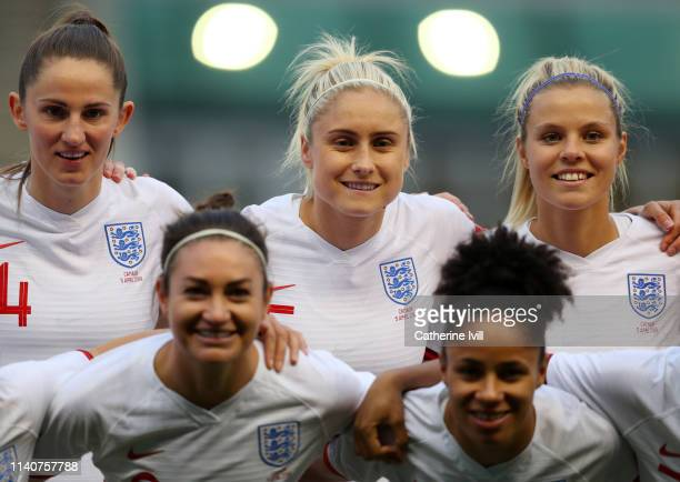 Steph Houghton of England during the International Friendly between England Women and Canada Women at The Academy Stadium on April 05 2019 in...