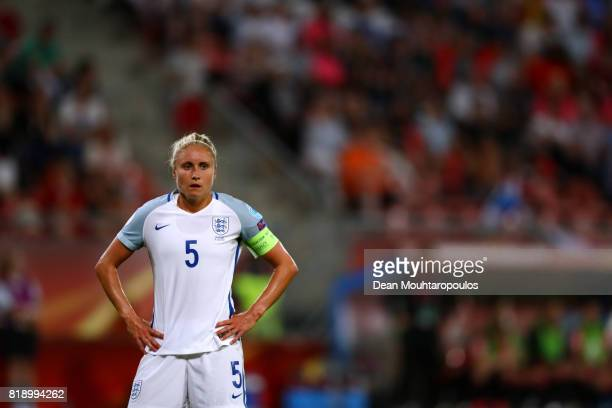 Steph Houghton of England during the UEFA Women's Euro 2017 Group D match between England and Scotland at Stadion Galgenwaard on July 19 2017 in...