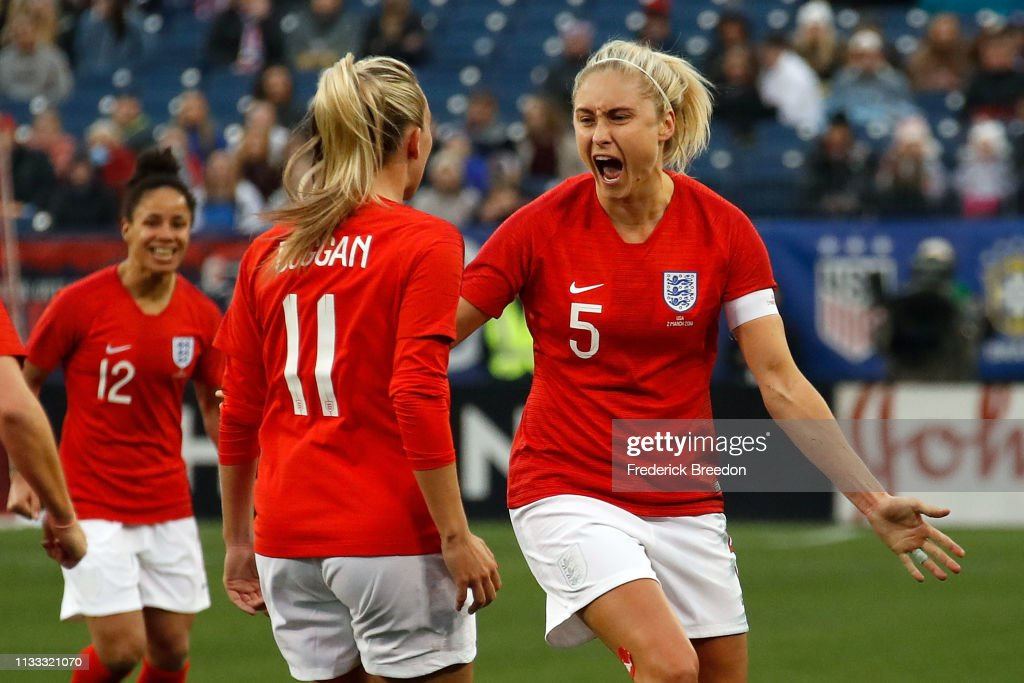 2019 SheBelieves Cup - United States v England : News Photo