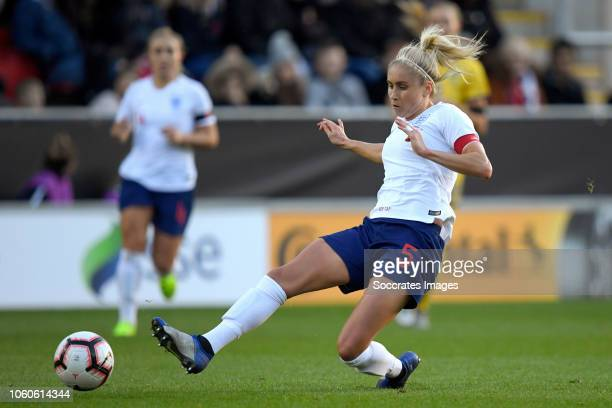 Steph Houghton of England Women during the International Friendly Women match between England v Sweden at the Aesseal New York Stadium on November 11...