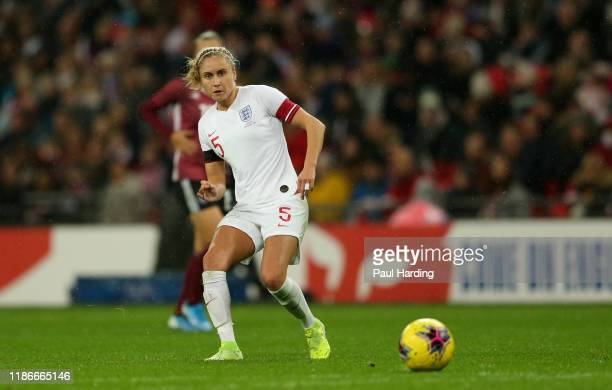 Steph Houghton of England Women during the International Friendly between England Women and Germany Women at Wembley Stadium on November 09, 2019 in...