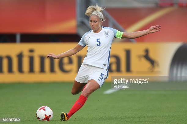 Steph Houghton of England women during the UEFA WEURO 2017 Group D group stage match between England and Scotland at the Galgenwaard Stadium on July...