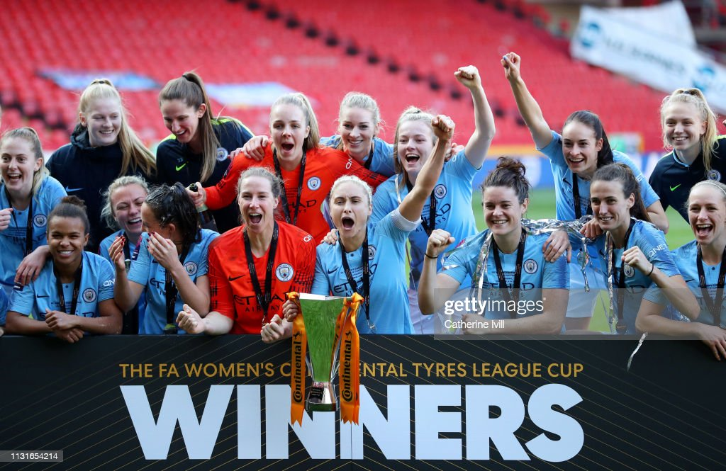 Arsenal v Manchester City Women - FA Women's Continental League Cup Final : News Photo