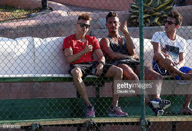 Stephan El Shaarawy attends Porto Cervo Summer 2015 Fiveaside Football Tournament Day One on June 22 2015 in Porto Cervo Italy