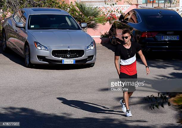 Stephan El Shaarawy attends Porto Cervo Summer 2015 Fiveaside Football Tournament Day One on June 24 2015 in Porto Cervo Italy