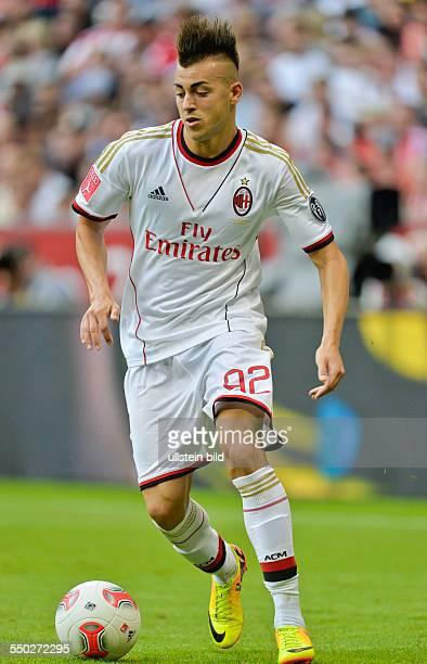 Stephan El Shaarawy in Aktion waehrend des Halbfinal Spiels AC Mailand gegen Manchester City beim AUDI CUP 2013 am 31 Juli 2013 in der Allianz Arena...