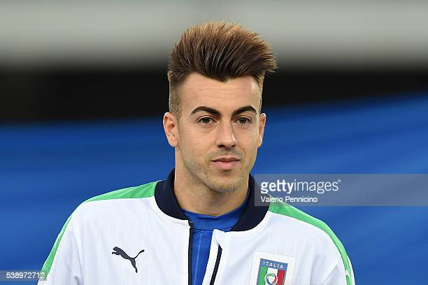 Stephan El Shaarawy of Italy looks on during the international friendly match between Italy and Finland on June 6 2016 in Verona Italy