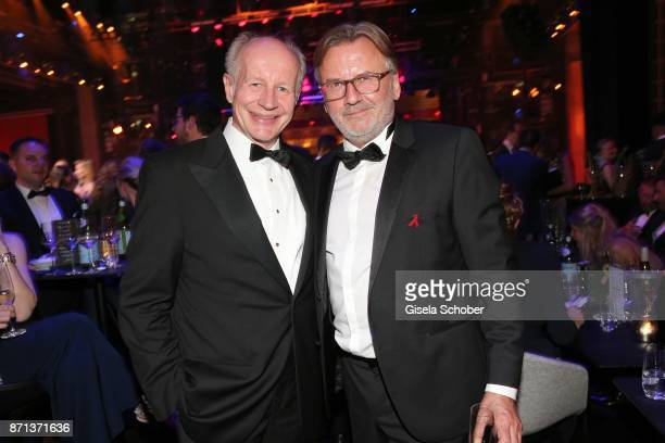Stephan Galler and Guenter Behringer AUDI Director of VIP Sales during the aftershow party of the 24th Opera Gala benefit to Deutsche AidsStiftung at...
