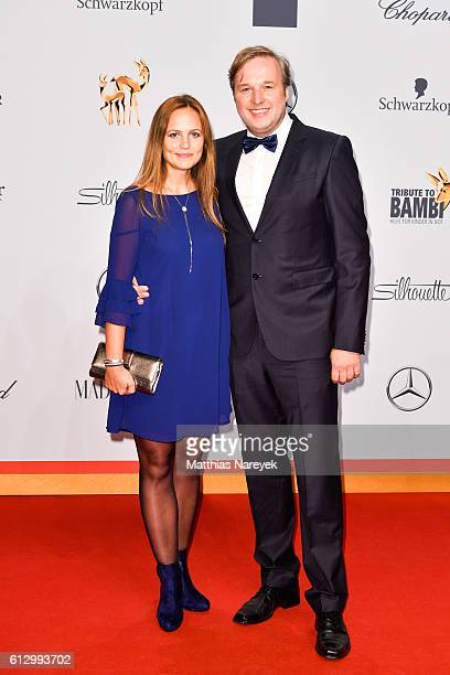 Stephan Grossmann and his wife Lidija attend the Tribute To Bambi at Station on October 6, 2016 in Berlin, Germany.