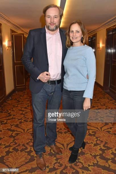 Stephan Grossmann and Lidija Grossmann attend the 'Die Niere' premiere on March 4, 2018 in Berlin, Germany.