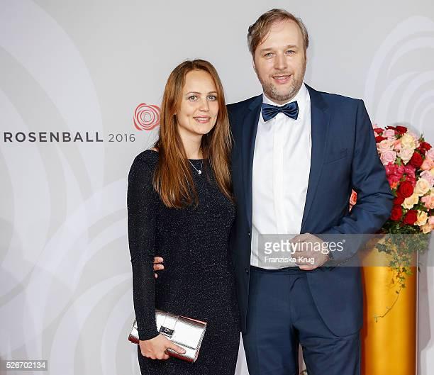 Stephan Grossmann and Lidija Grossmann attend the Rosenball 2016 on April 30 in Berlin Germany