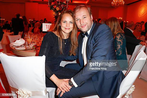 Stephan Grossmann and Lidija Grossmann attend the Rosenball 2016 on April 30 2016 in Berlin Germany