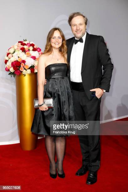 Stephan Grossmann and Lidija Grossmann attend the Rosenball charity event at Hotel Intercontinental on May 5, 2018 in Berlin, Germany.