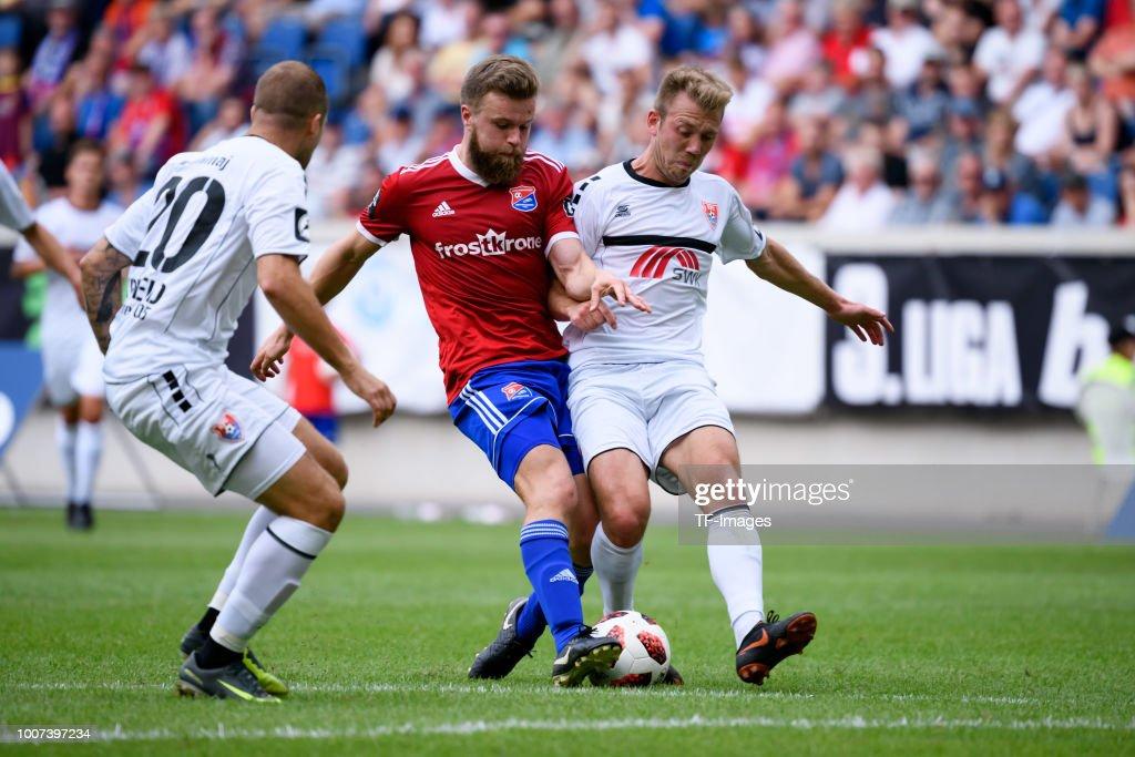 Uerdingen v Haching - 3. Liga : News Photo