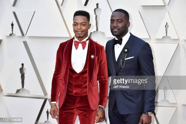 Stephan James and Shamier Anderson attends the 91st Annual Academy Awards at Hollywood and Highland on February 24 2019 in Hollywood California