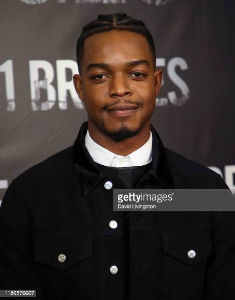 """Stephan James attends a photocall for STX Entertainment's """"21 Bridges"""" at Four Seasons Hotel Los Angeles at Beverly Hills on November 09, 2019 in Los..."""