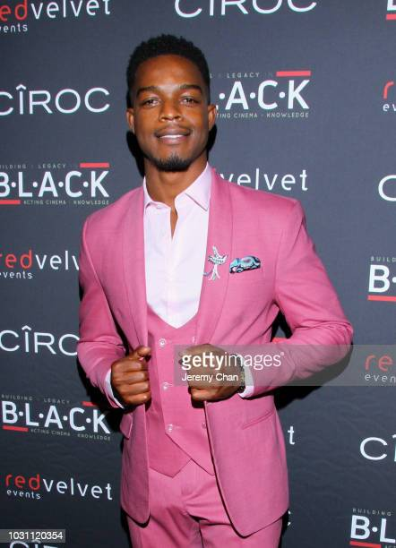 Stephan James attends Stephan James And Shamier Anderson Host Third Annual BLACK Ball at TIFF Bell Lightbox on September 10 2018 in Toronto Canada