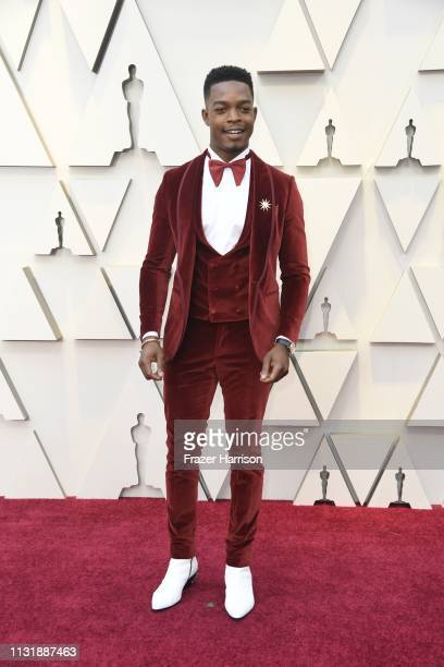 Stephan James attends the 91st Annual Academy Awards at Hollywood and Highland on February 24 2019 in Hollywood California