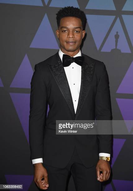 Stephan James attends the Academy of Motion Picture Arts and Sciences' 10th annual Governors Awards at The Ray Dolby Ballroom at Hollywood Highland...