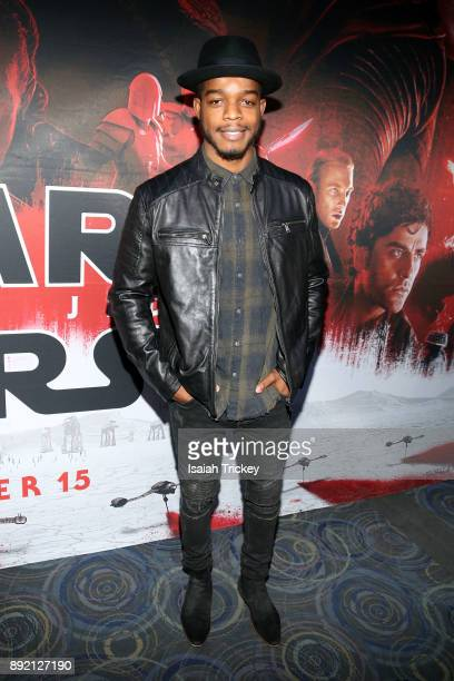 Stephan James attends the Star Wars The Last Jedi Canadian premiere held at Scotiabank Theatre on December 13 2017 in Toronto Canada