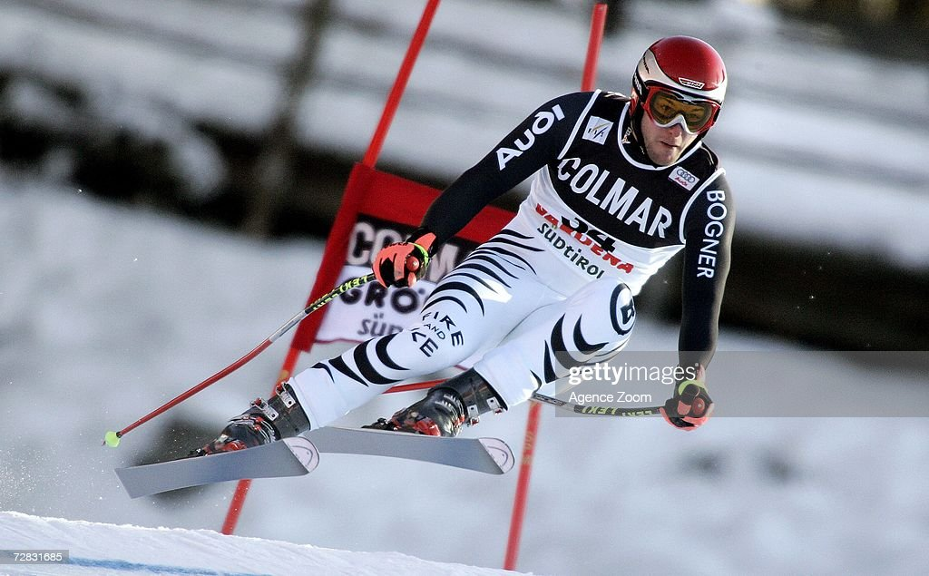 Stephan Keppler of Germany competes in the FIS Skiing World Cup Men's Super-G on December 15, 2006 in Val Gardena, Italy.