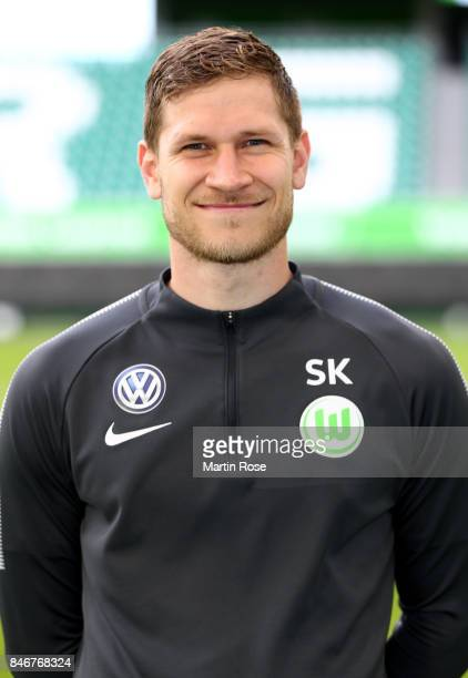 Stephan Kerth of VfL Wolfsburg poses during the team presentation at on September 13 2017 in Wolfsburg Germany