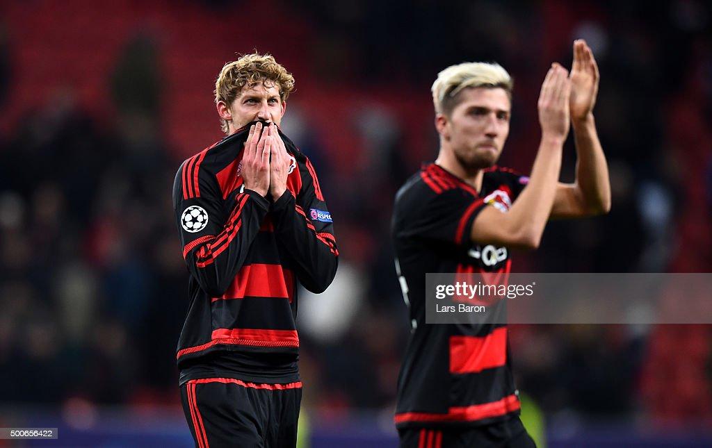 Bayer 04 Leverkusen v FC Barcelona - UEFA Champions League : News Photo