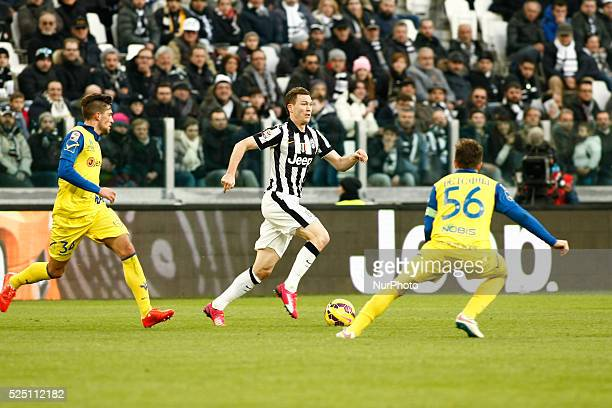 Stephan Lichtsteiner during the Serie A match between Juventus FC and AC Chievo Verona at Juventus Stafium on january 25 2015 in Torino Italy