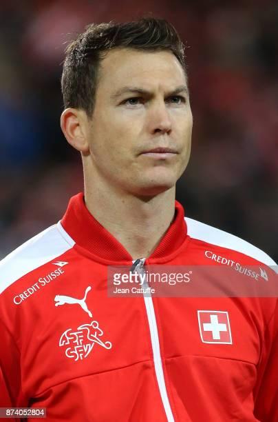 Stephan Lichtsteiner of Switzerland during the FIFA 2018 World Cup Qualifier PlayOff Second Leg between Switzerland and Northern Ireland at St...